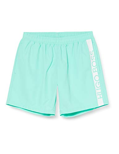 BOSS Herren Dolphin Badehose, Light/Pastel Green331, S EU