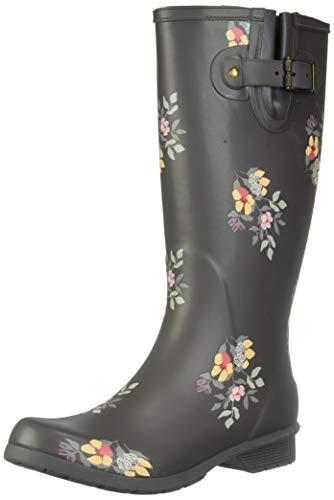 Chooka Women's Tall Memory Foam Rain Boot, Bailey, 9 M US