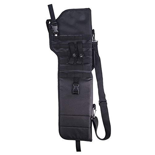 73,7cm Taktische Rucksäcke 600D Outdoor Jagd Molle Bug Out Bag Tactical Pistol Grip Short Barrel Shotgun Scabbard Holster Bag Sling Back Pack Schultertasche Shotgun Gewehrtasche Gepolsterte Tasche