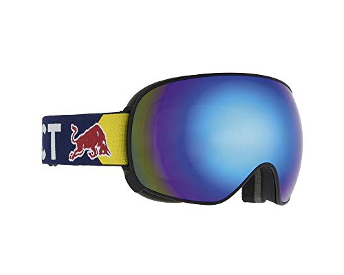 Red Bull Spect Eyewear Goggle Schneebrille Magnetron-002 Black/Blue Snow - Smoke