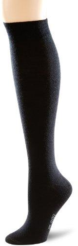 ELBEO Damen KH Wool W Kniestrümpfe, Schwarz (schwarz 9500), 39-42 (II)