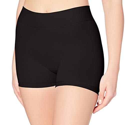 PIECES Damen Panties Pclondon Mini Shorts Noos, Schwarz (Black Black), 36 (Herstellergröße:S/M)