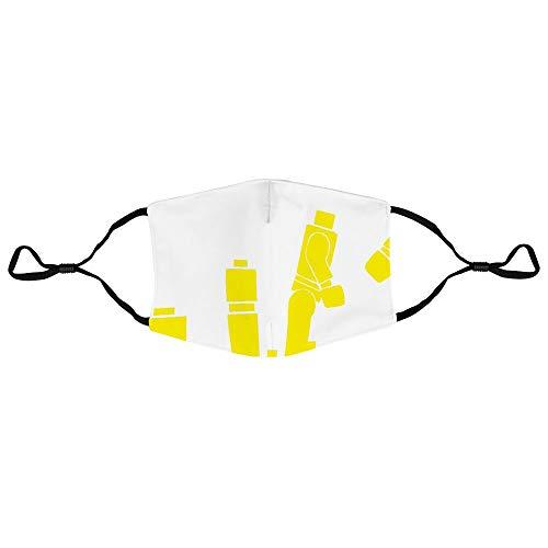 Lego Bufanda Cubierta de cara a prueba de polvo Diadema al aire libre Pañuelo mágico suave Durable Alta elasticidad Protección UV