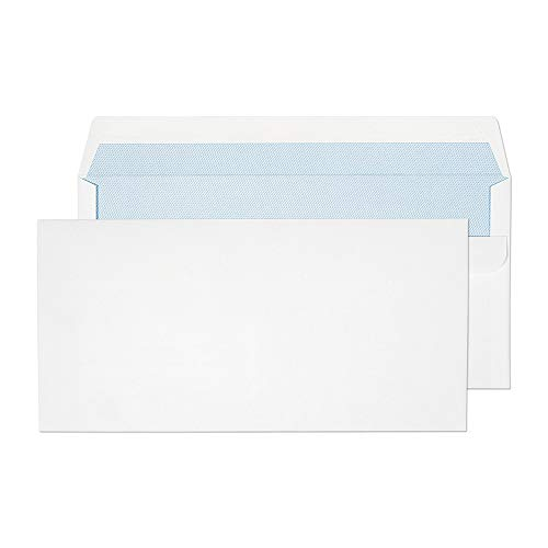 Blake 13882/50PR Purely Everyday DL 110x 220mm, 90g/m², autoadhesivos sobre–blanco (paquete de 50)