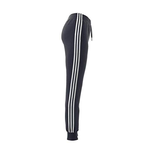 adidas Women's Essentials Tricot Open Hem Pants, Ink/White, Large