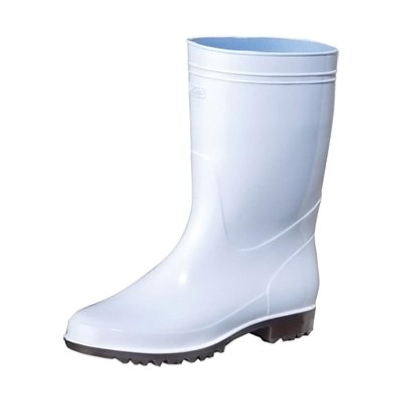 弘進 ゾナG3ネオ耐油 白長靴(耐油性) 26cm