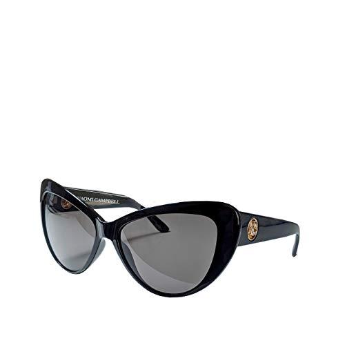 Naomi Campbell Collection | Damen Cat Eye Sonnenbrille | 100% UV Schutz | mit getönten Gläsern | XL Klassisch | Schmetterling | übergroße Frauen Sonnenbrille | Polarisiert