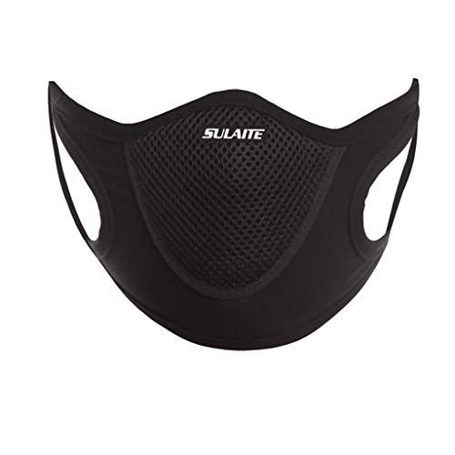 Atemmaskenfilter Atmungsaktive Maske Staubfeste Anti-Ultraviolett-Masken Staubmaskenfilter (Schwarz)