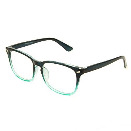 Cyxus Blue Light Blocking Computer Glasses Retro Clear Lens Eyeglasses Frame