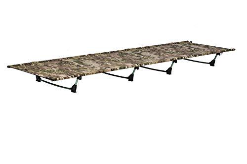 アウトドア ベッド、DESERT WALKER 折りたたみ式ベッド キャンピングベッド, 軽量1.3KG、耐荷重:200KG 収納袋付き (カモフラージュ)