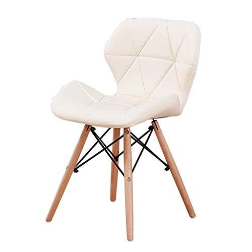 JPL Bar, Café, Restaurant Stuhl, Frühstücksstuhl, Butterfly Chair Lounge Chair Kaffeestuhl Empfangsstuhl Verhandlungsstuhl Net Red Armchair,Weiß