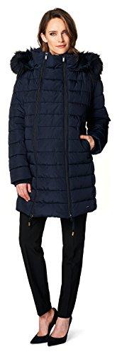 Noppies Damen Jacke Jacket Anna, Blau (Dark Blue C165) - 6