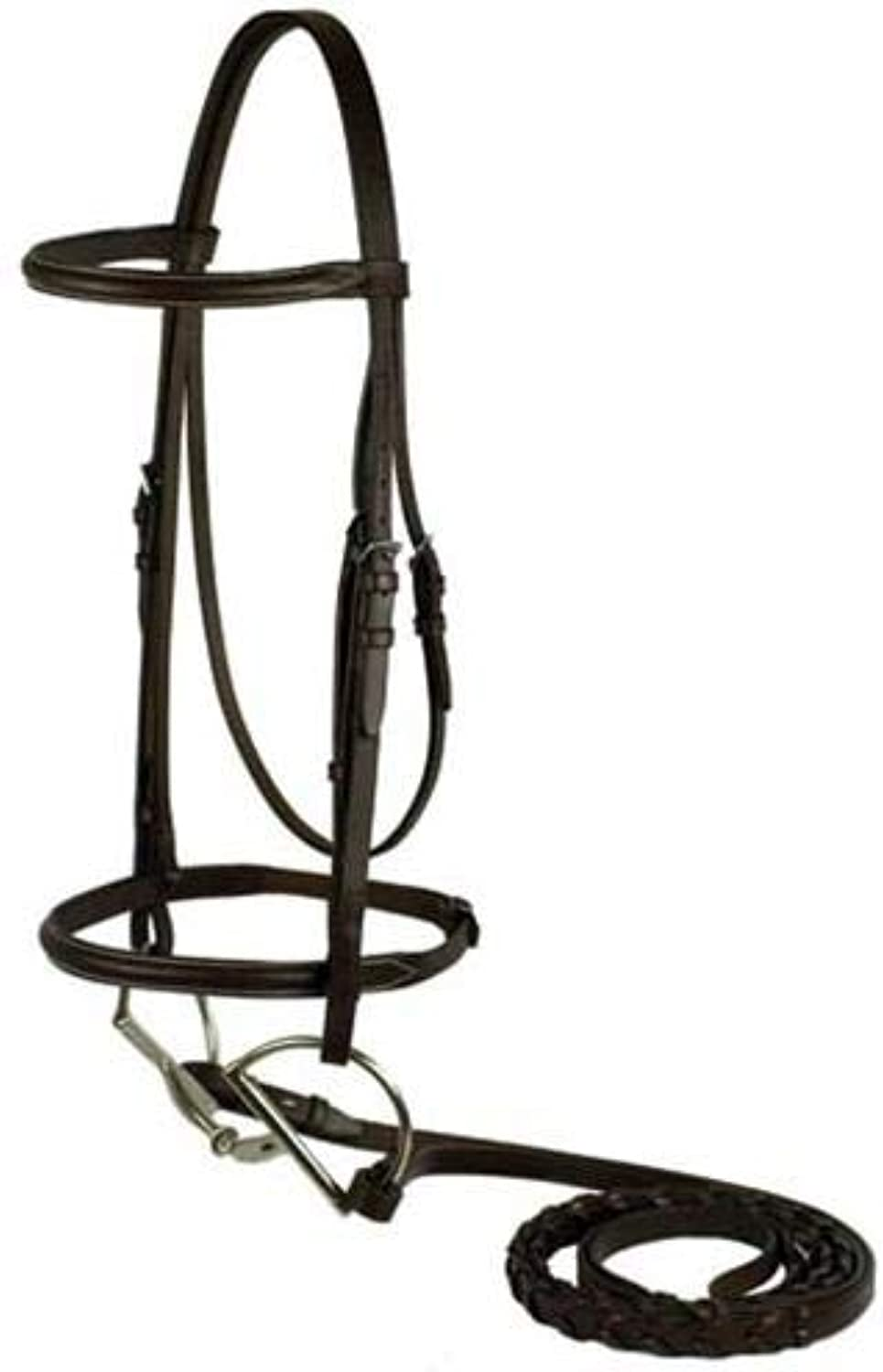 Choice Brands Plain Snaffle Bridle  104H HORSE