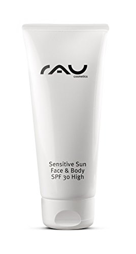 RAU Sensitive Sun Face & Body SPF 30 - 75 ml - Pflegende Sonnenschutzcreme, Ski Fahren, Sonnencreme