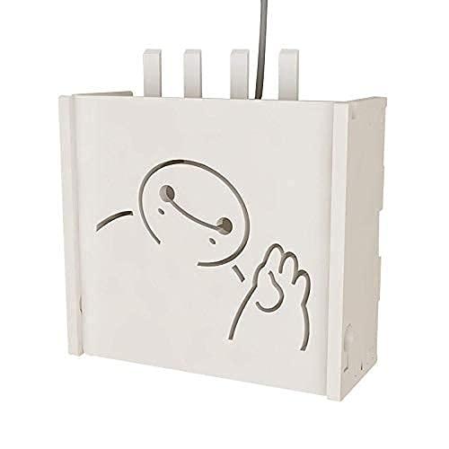 Estante Flotante Cajas de Almacenamiento de Enrutador Wifi, Caja de Almacenamiento de...