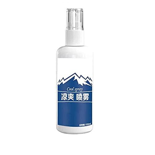 wgkgh Spray de camisa de enfriamiento corporal, fluido de enfriamiento portátil para deportes al aire libre, enfriar, mantener fresco durante mucho tiempo (1 unidad)