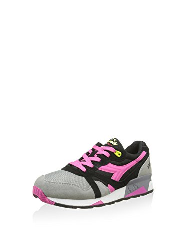 Diadora Sneaker N9000 Nyl Nero/Grigio/Rosa EU 48 (13 UK)