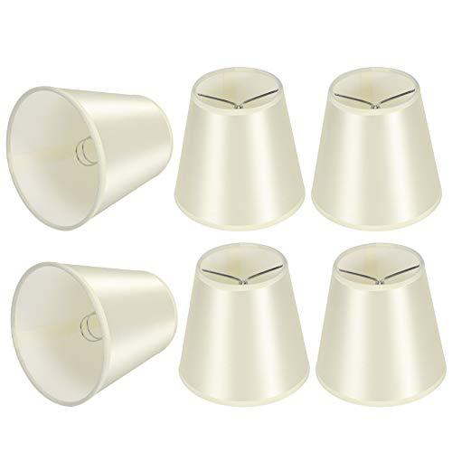GUSTAR Pantalla, Bloque de Pantalla de lámpara cilíndrica La luz no Deslumbrante para lámparas de Pared para candelabros para Modelo de Interfaz de Bombilla E14