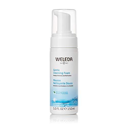 WELEDA Zarter Reinigungsschaum, Naturkosmetik Gesichtsreinigung zur porentiefen Reinigung für normale und Mischhaut, Pflegeschaum gegen unreine Haut im Gesicht (1 x 150 ml)