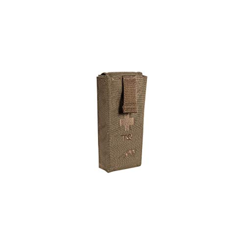 Tasmanian Tiger Tourniquet Pouch II, Tactical MOLLE Quick Release Tourniquet Holder, Emergency First Responders, Coyote