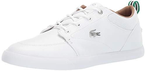 Lacoste White Leather Shoes for Men
