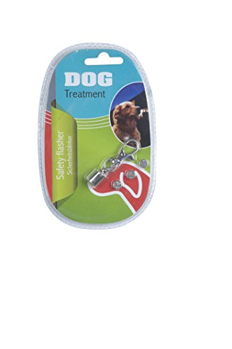 Dog - 38992 - Pendentif Clignotant Led de Sécurité - 6 cm