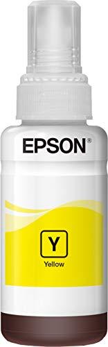 Epson 946545 - Tinta en botella (70 ml) color amarillo válido para los modelos EcoTank L555, L355, ET-4550, ET-2500, ET-16500, ET-14000 y otros, Ya disponible en Amazon Dash Replenishment