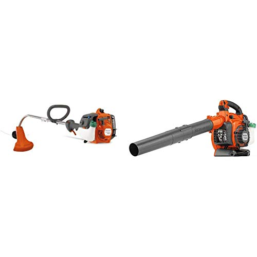 Lowest Price! Husqvarna 128CD 17 in. String Trimmer and 125BVx 28cc Handheld Blower/Vacuum Combo Pac...