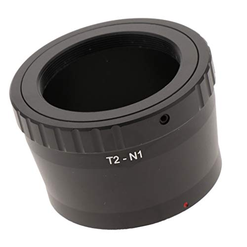 H HILABEE Adaptador T2-N1 para Teleobjetivo T-2 para Cámaras 1-Series V1 J1 J2 J3