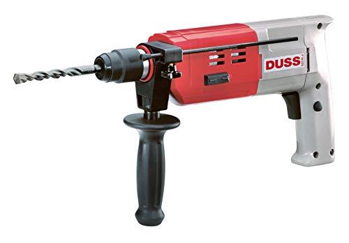 DUSS P16SDSSet Bohrhammer P 16 SDS Set (für Innenausbau, Metall- und Holzbau, Elektroinstallationen u.v.m, 600 Watt, 810 U/min)