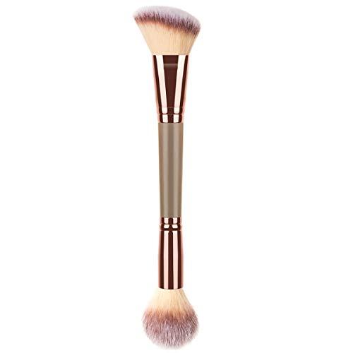 KINGMAS Foundation Makeup Brush, Double Ended Makeup Brushes for Blending Liquid Powder, Concealer Cream Cosmetics, Blush brush