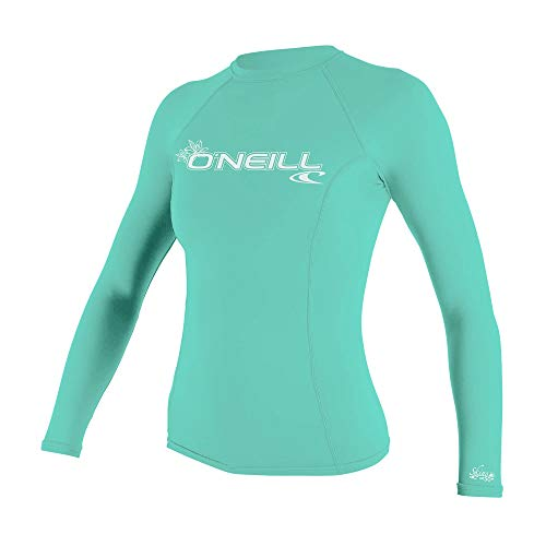 O\'Neill Damen Wetsuits Basic Skins Long Sleeve M Seeglas