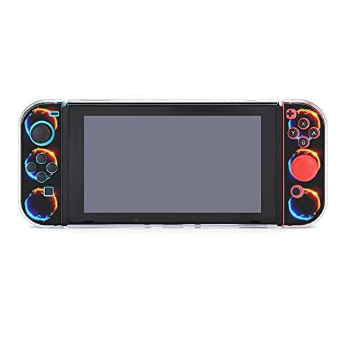 Funda para Nintendo Switch Blue And Red Fire Dragon 5 piezas Funda...