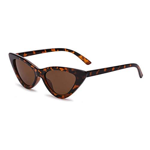 OULN1Y Gafas de sol Sunglasses Women Vintage Eyewear Leopard Print Sunglasses Female Retro Sunglasses Tinted Color