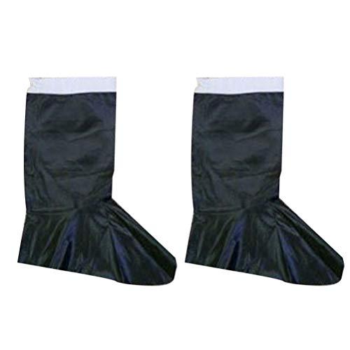 Amosfun Botas de Santa Claus Botas de Navidad Cubierta Disfraces de Cosplay Accesorios de Rendimiento para Hombres Hombres Accesorio de Fiesta