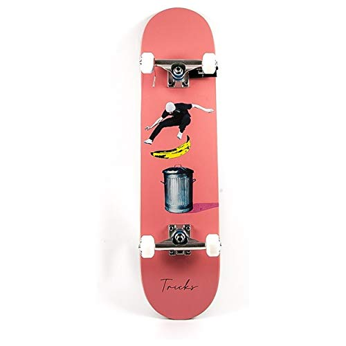 Tricks Banana Complete Skateboard, 18,9 x 80,9 cm, Erwachsene, Unisex, Mehrfarbig, 19,9 cm