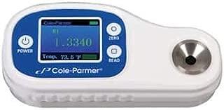 Cole-Parmer Digital Refractometer, 1.3330 to 1.3900 RI, 0-14 g/dl Serum Protein, Urine Specific Gravity (Animal), 1.000-1.060 g/dl