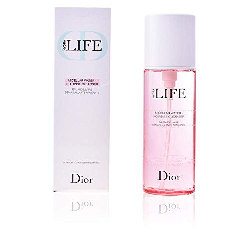 Christian Dior Hydra Life Micellar Water No Rinse Cleanser for Women, 6.7 Ounce