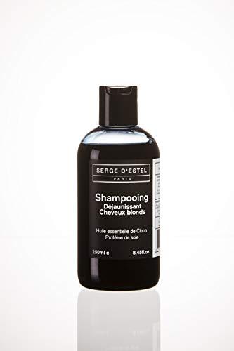 Shampoing Déjaunissant Cheveux Blonds 250ml...