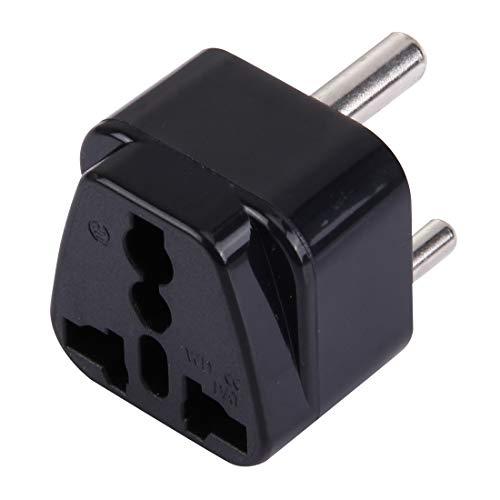 Universal Plug portátil (pequeño) Sudáfrica adaptador de enchufe del zócalo de energía del convertidor de viaje NCCZ