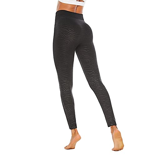 Leggins Mallas Pantalones Deportiva Niña, Mujeres Alta cintura transpirable Pantalones de yoga Pantalones Pulta Control Estirado Entrenamiento Gimnasio Leggings Correr Medias de aptitud 7/8 Pantalones