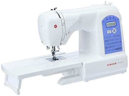 Maquina de Costura Eletrônica Starlet 6680 127v, Singer, Branco, Médio
