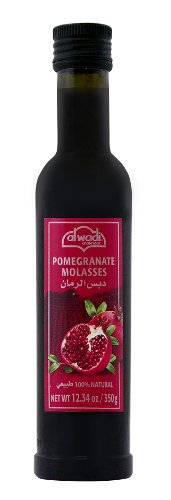 Al Wadi Al Wadi Pomegranate Molasses by Al Wadi - 100% Natural 12.34 Ounce