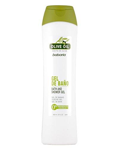 Babaria - Gel de Ducha con aceite de oliva - 600 ml