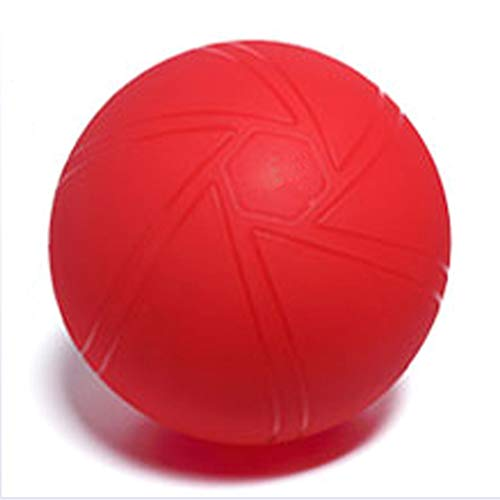 Cnwang Gymnastikball, Yoga-Ball Mit Auslaufsicherem Design, Anti-Burst & Extra Dickes Material, Hebammen-Yoga-Ball, Easy Inflation Pump (55-75 cm),Rot,75CM