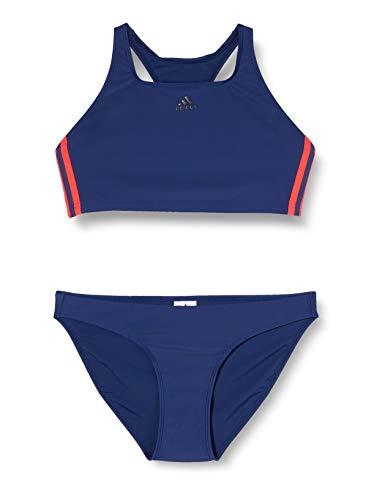 adidas Damen FIT 2PC 3S Badeanzug, Tech Indigo, 36
