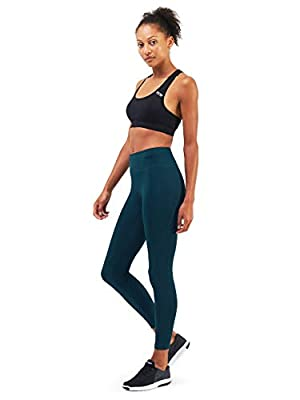 TCA Women's Pro Performance Supreme High Waisted Yoga Running Leggings with Phone Pocket