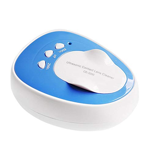 YBZS Mini Rechargeable Ultrasonic Cleaner Contact Lens Cleaner for Contact Lenses Auto Ultrasound Clean Fast Vibration