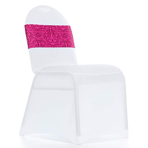 Decorative Chair Sashes - Pack of 20 Wedding Sash Covers for Chairs - Premium Wedding Chair Bands, Perfect for Bridal Party, Birthdays, Banquets, Receptions, Baby Showers, and Conferences