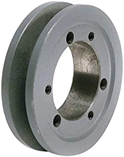 MasterDrive 1B94SDS, Bushing Bore V-Belt Pulley, Section Size: A or B, Grooves: 1, O.D. 9-3/4